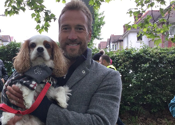 BB Leisure & Tourism Editor,  Gizmo, with Ben Fogle