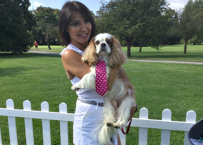 BB Deputy Editor, Gizmo with Lizzie Cundy