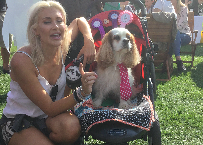 BB Deputy Editor, Gizmo, with Stephanie Pratt