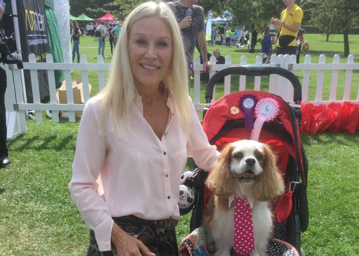 BB Deputy Editor, Gizmo, with Angie Best