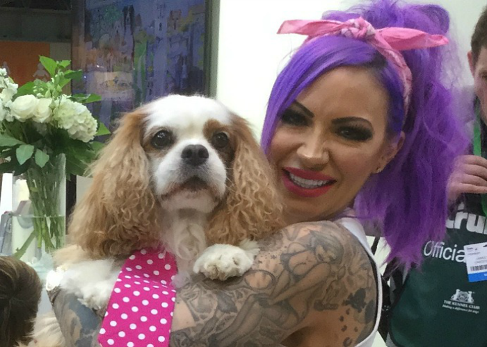 BB Deputy Editor, Gizmo, with Jodie Marsh