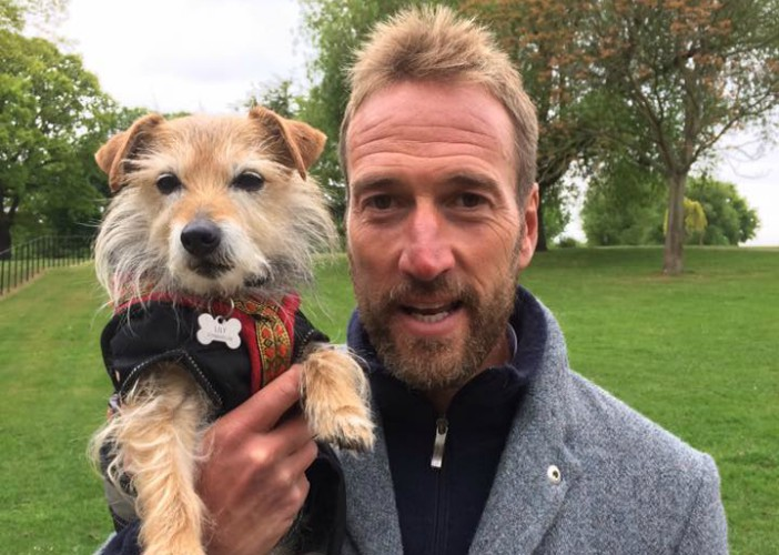 BB Science Editor, Lily, with Ben Fogle
