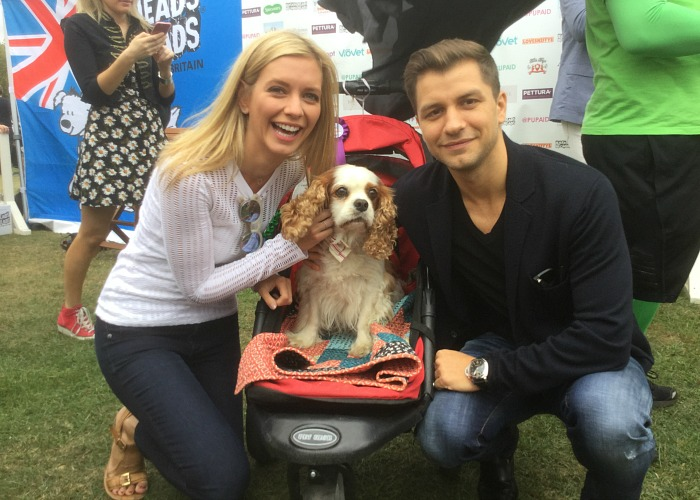BB Repawter, Gizmo, with Rachel Riley & Pasha