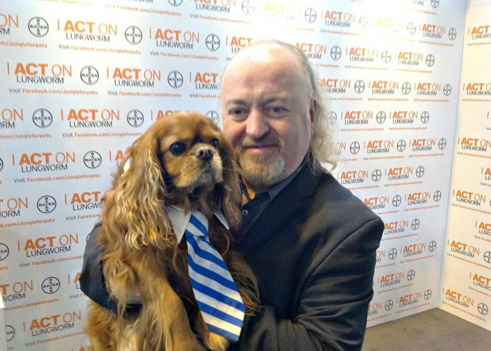 BB Editor, Frodo, with Bill Bailey