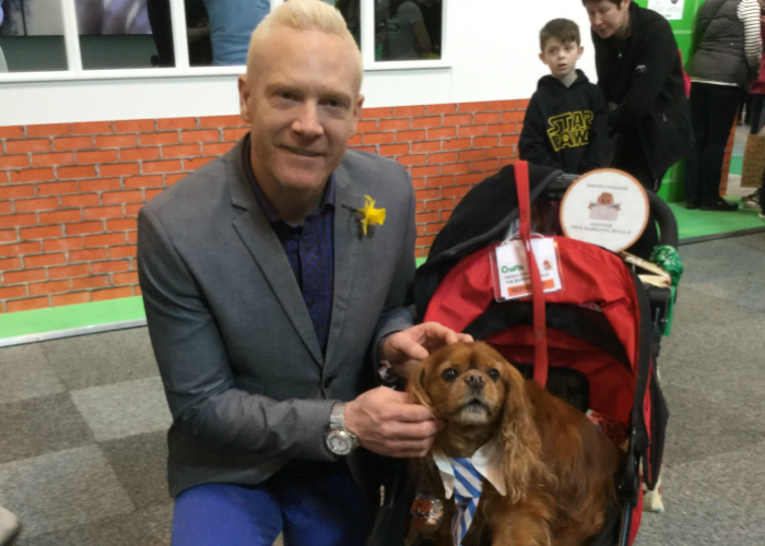 BB Editor, Frodo, with Iwan Thomas