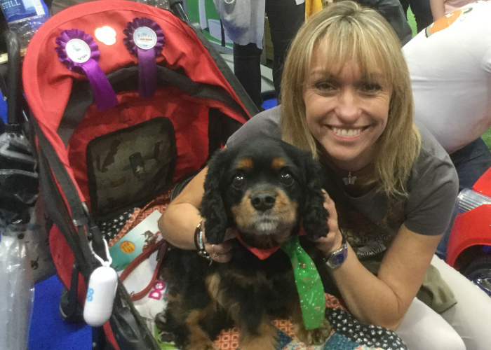 BB Events Editor, Pupstar, with Michaela Strachan