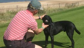 Brancaster golf course employs K9 caddie