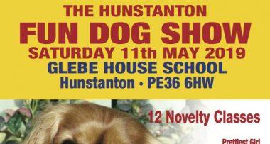 The Hunstanton Fun Dog Show – Saturday 11th May 2019