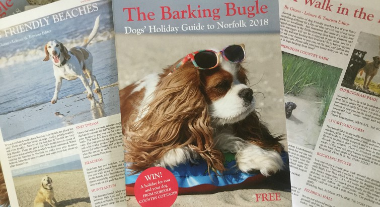 DOGS' HOLIDAY GUIDE TO NORFOLK