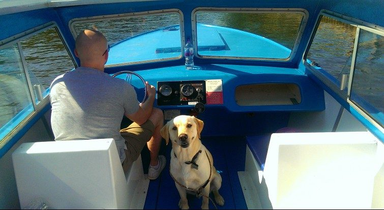 My trip on a Broads Tours day boat